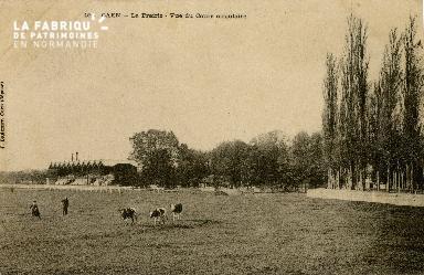 Cl 08 316 Caen la Prairie vue du Cours Circulaire