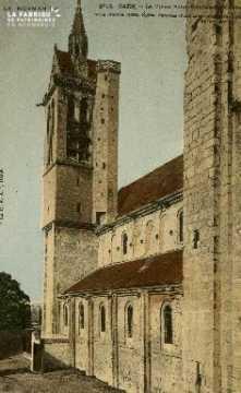 Cl 08 321 Caen le vieux St Nicolas des Champs style Roman (1093) Eglis
