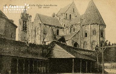 Cl 08 322 Caen Vieille Eglise St Nicolas (XIè s.)
