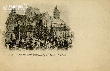 Cl 08 324 Caen l'ancienne Eglise St Nicolas XIè s.
