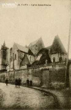 Cl 08 327 Caen Eglise St Nicolas