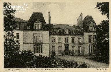 Cl 08 344 Caen Annexe Déposant : Déposant : institution St Pierre l'Entrée