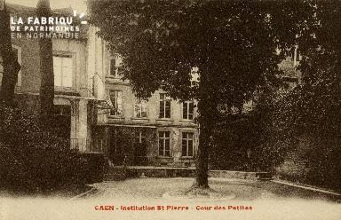 Cl 08 350 Caen Déposant : Déposant : institution St Pierre Cour des Petites
