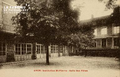 Cl 08 351 Caen Annexe Déposant : Déposant : institution St Pierre Salle des Fêtes