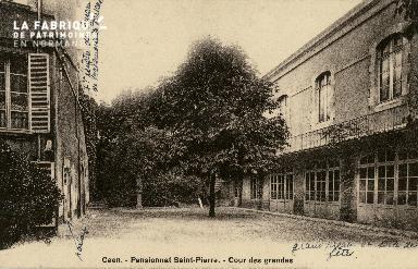 Cl 08 352 Caen Pensionnat St Pierre Cour des Grandes