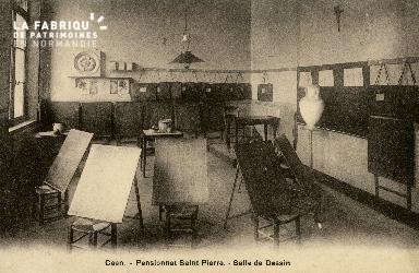 Cl 08 356 Caen Pensionnat St Pierre Salle de Dessin