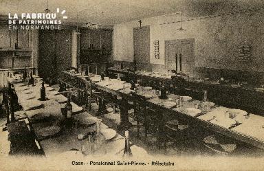 Cl 08 357 Caen Pensionnat St Pierre Réfectoire
