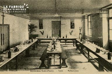 Cl 08 358 Caen Déposant : Déposant : institution St Pierre Réfectoire