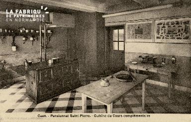 Cl 08 363 Caen Pensionnat St Pierre Cuisine du Cours Complémentaire