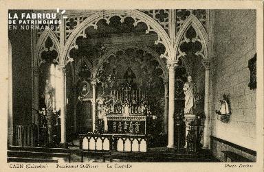 Cl 08 364 Caen Pensionnat St Pierre la Chapelle