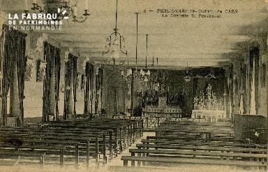 Cl 08 374 Caen Pensionnat St Joseph Fla Chapelle du Pensionnat