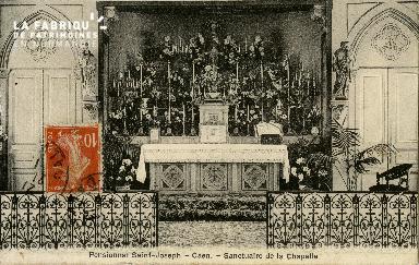 Cl 08 385 Caen Pensionnat St Joseph Sanctuaire de la Chapelle