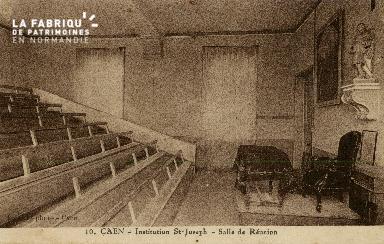 Cl 08 391 Caen Déposant : Déposant : institution St Joseph Salle de Réunion