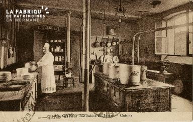 Cl 08 392 Caen Déposant : Déposant : institution St Joseph Cuisine