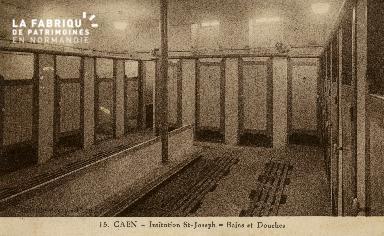 Cl 08 393 Caen Déposant : Déposant : institution St Joseph Bains et Douches