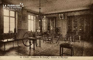 Cl 08 394 Caen Déposant : Déposant : institution St Joseph Cabinet de Physique