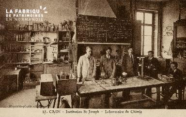 Cl 08 395 Caen Déposant : Déposant : institution St Joseph Laboratoire de Chimie