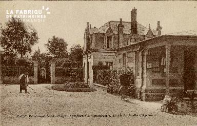 Cl 08 397 Caen Pensionnat St Joseph Aumônerie et Congiergerie Entrée d