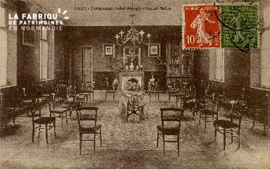 Cl 08 398 Caen Pensionnat St Joseph Grand Salon