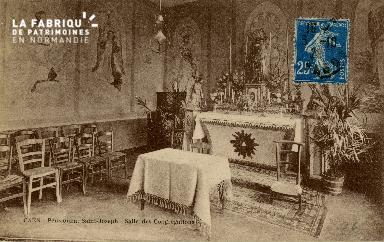 Cl 08 399 Caen Pensionnat St Joseph Salle des Congrégations