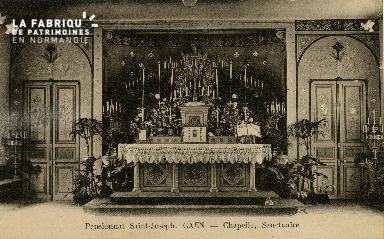 Cl 08 404 Caen Pensionnat St Joseph Chapelle, Sanctuaire