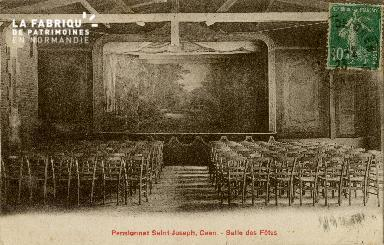 Cl 08 408 Caen Pensionnat St Joseph Salle des Fêtes