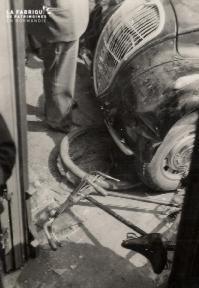 Divers- Accident Peugeot 2- Lieu non précisé