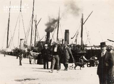 Port de Caen 5- Bateaux à quai