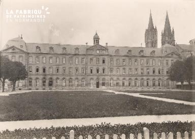 Abbaye aux hommes- Actuelle Déposant : mairie-
