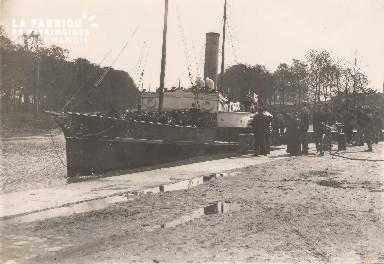 Port de Caen- Bateau et passagers