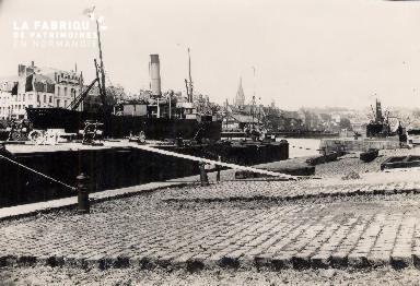 Port de Caen.