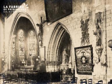 Intérieur Eglise (non identifié) - 19A