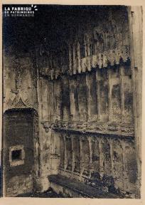 Banc dans mur en pierre (non identifié) - 13A