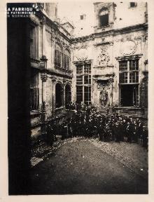 Inauguration fête Universitaire vers 1890 (non identifié) - 30