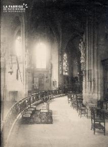 Intérieur Eglise (non identifié) - 24A