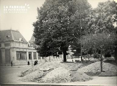 tranchées place Gambetta 10 sept 1940