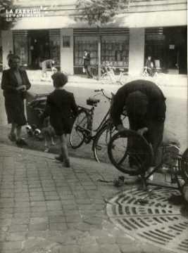 17 juin 1940 réparation de vélo