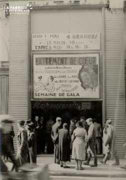 Cinéma, Battement de coeur, film à l'affiche