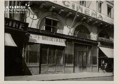 Cinéma, façade