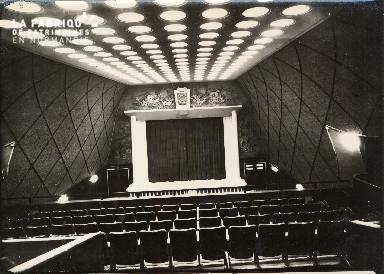 Cinéma, la salle 01