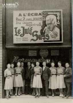 Cinéma, Le juif Suss, film à l'affiche