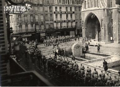 juin 1940 défilé troupes d'occupation