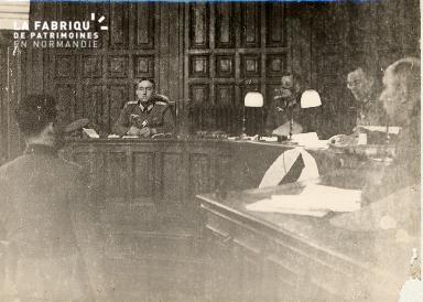 Procès Louis Degrelle à Caen avril 1941 3