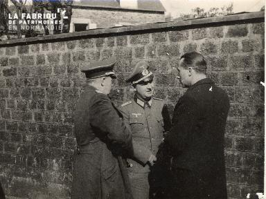 Procès Louis Degrelle à Caen avril 1941