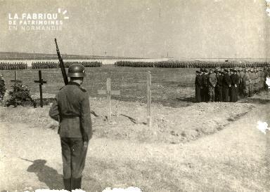 troupe d'occupation au cimetière 024