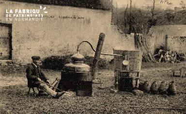 Une distillerie de cidre