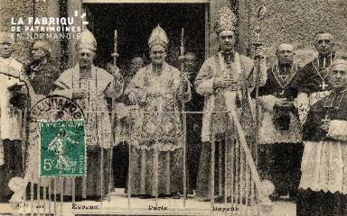 La Délivrande- Les évêques d'Evreux-Bayeux-Paris