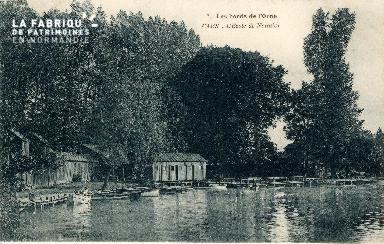 Caen  Les bords de l'Orne -. L'Ecole de Natation