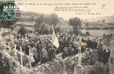 Lisieux- Pélerinage militaire du 24 août 1913