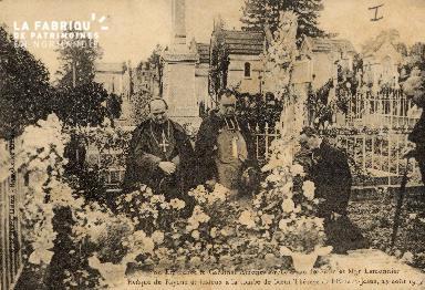 Lisieux- Son éminence le cardinal Amette Archevêque de Paris et \r\n\r